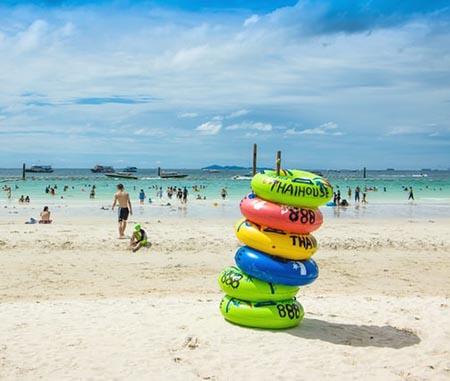 Beache of Thailand